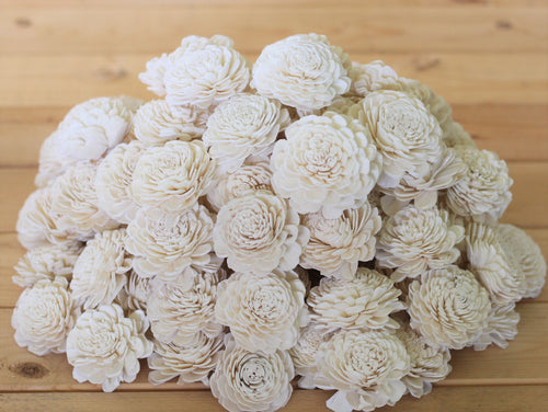 Wholesale/Bulk Sola Wood Bali Flowers ( 50 Count )
