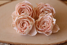 Blush Pink Sola Wood Peonies ( Set of 12 )
