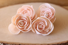 Blush Pink Love Rose Sola Wood Flowers (Set of 12)