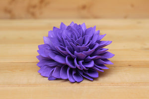 "Purple Sola Dahlias 4"" ( Set of 5 )"
