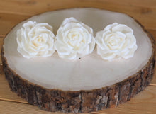 "Sola Wood Wedding Roses 2.5"" - Pack of 6"