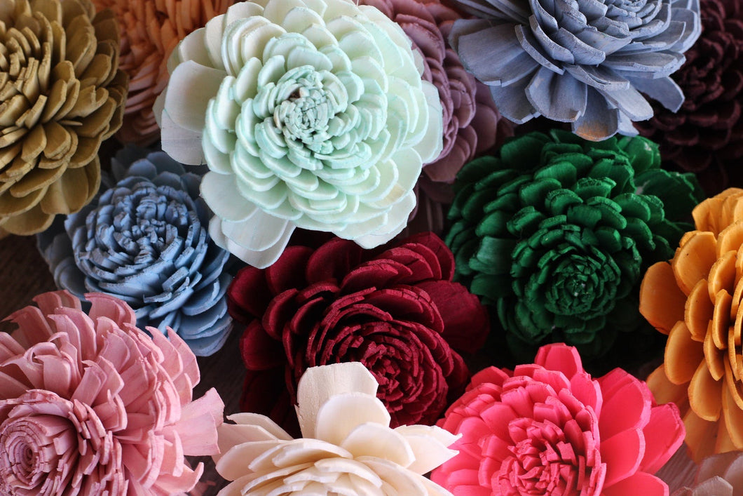 Order of all 71 flower colors