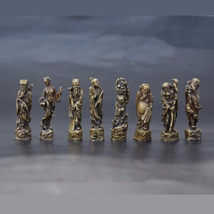 🜋 The Eight Immortals Figurines