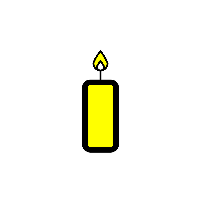 ♌ Yellow Candles
