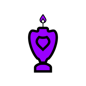 🜛 Violet Candle of the Kerubim