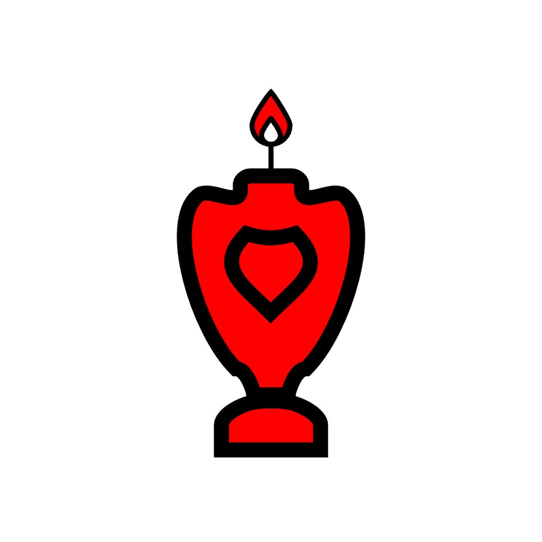 🜜 Red Candle of the Seraphim