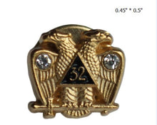 Load image into Gallery viewer, 🜋 Masonic Degree Pin