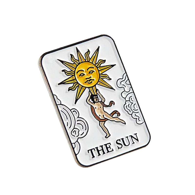 The Sun Tarot Pin