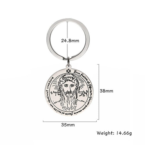 🜚 Key Ring of Metatron
