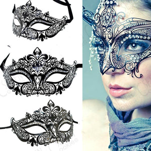 🜠 Metal Masquerade Mask