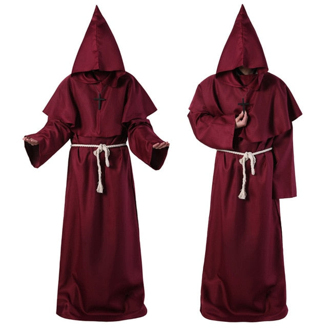 🜜 Red Friar Robes