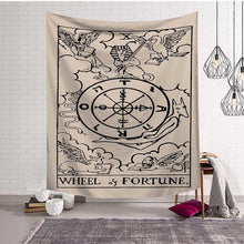 Load image into Gallery viewer, 🜩 Wheel of Fortune Tapestry