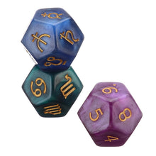 Load image into Gallery viewer, 🜋 Astrology Dice