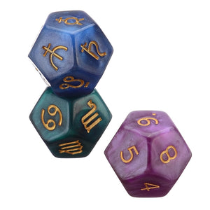 Astrology Divination Dice