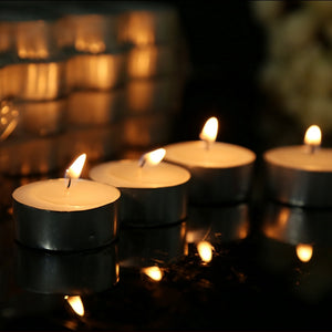 ☸️ White Tealight Candles