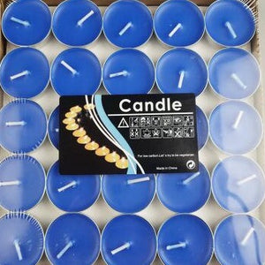🜄 Blue Tealight Candles