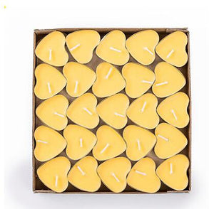 🜁 Yellow Tealight Candles