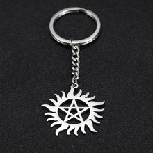 Load image into Gallery viewer, 🜋 Supernatural Key Ring
