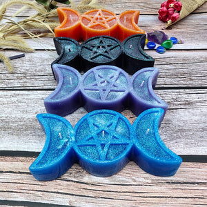 🜛 Triple Goddess Candles (2pc)