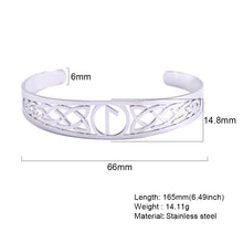 Load image into Gallery viewer, ♏ Bracelet of Eihwaz