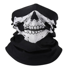 Load image into Gallery viewer, Skull Scarf Mask