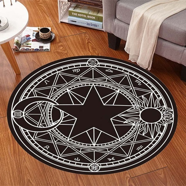 🜪 Black Magick Carpet