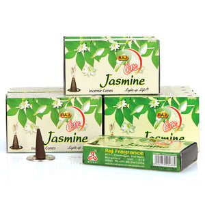🜛 Jasmine Incense Cones