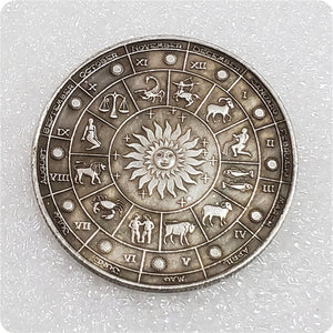 🜋 Silver Zodiac Coin Set