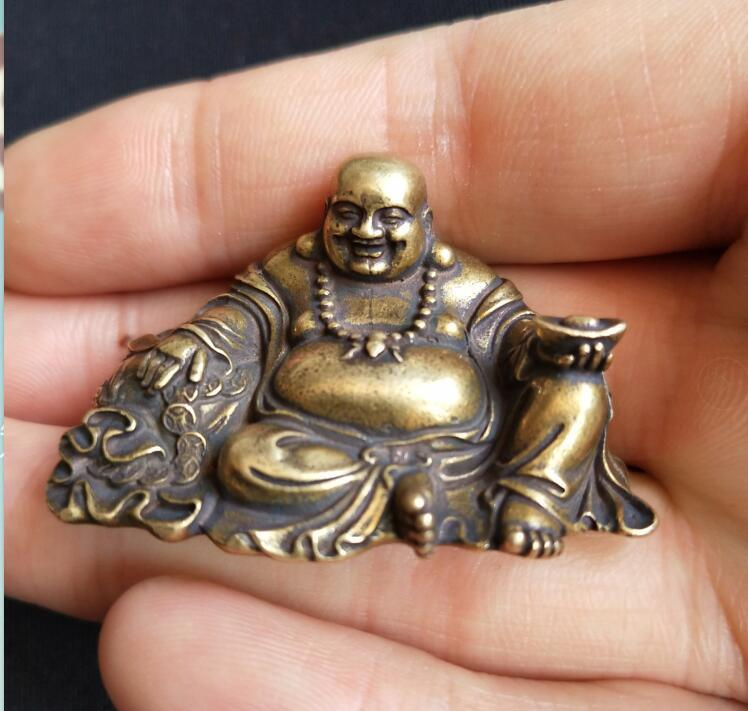 🜩 Laughing Buddha Figurine