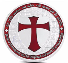 Load image into Gallery viewer, 🜋 Knights Templar Coin