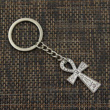 Load image into Gallery viewer, 🜋 Ankh Key Ring