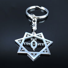 Load image into Gallery viewer, 🜠 Babalon Key Ring