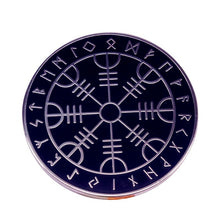 Load image into Gallery viewer, 🜋 Vegvisir Pin