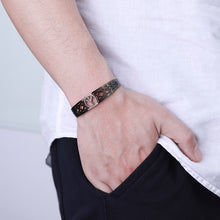 Load image into Gallery viewer, 🜩 Bracelet of Mannaz