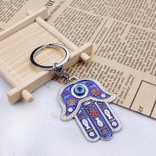 Load image into Gallery viewer, 🜋 Hamsa Key Ring
