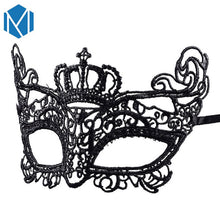 Load image into Gallery viewer, 🜠 Lace Masquerade Mask