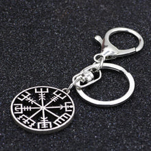 Load image into Gallery viewer, 🜋 Vegvisir Key Ring