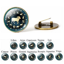 Load image into Gallery viewer, 🜋 Zodiac Brooches