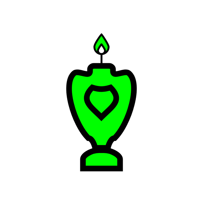🜠 Green Candle of the Elohim