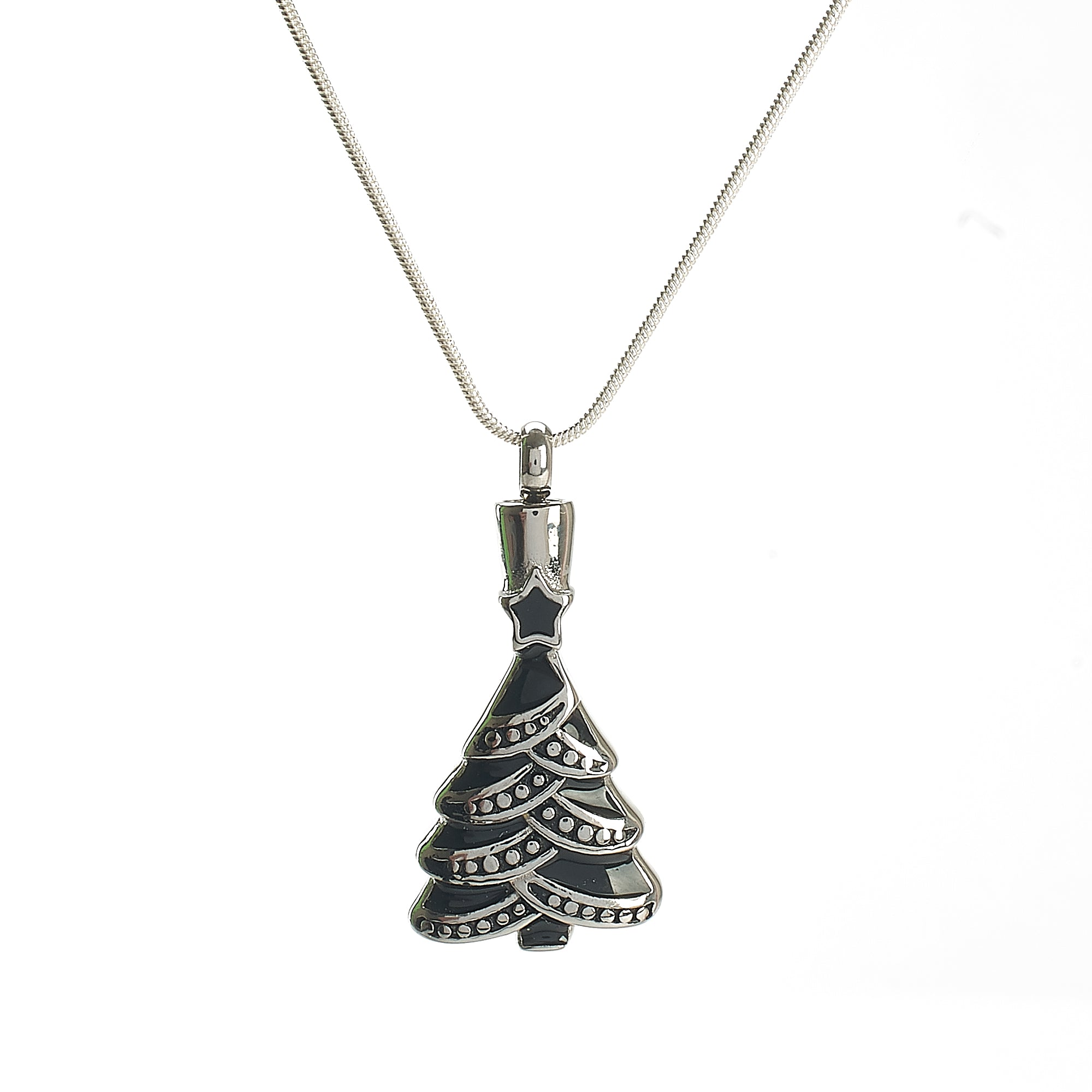 Cremation Pendant - Christmas Tree