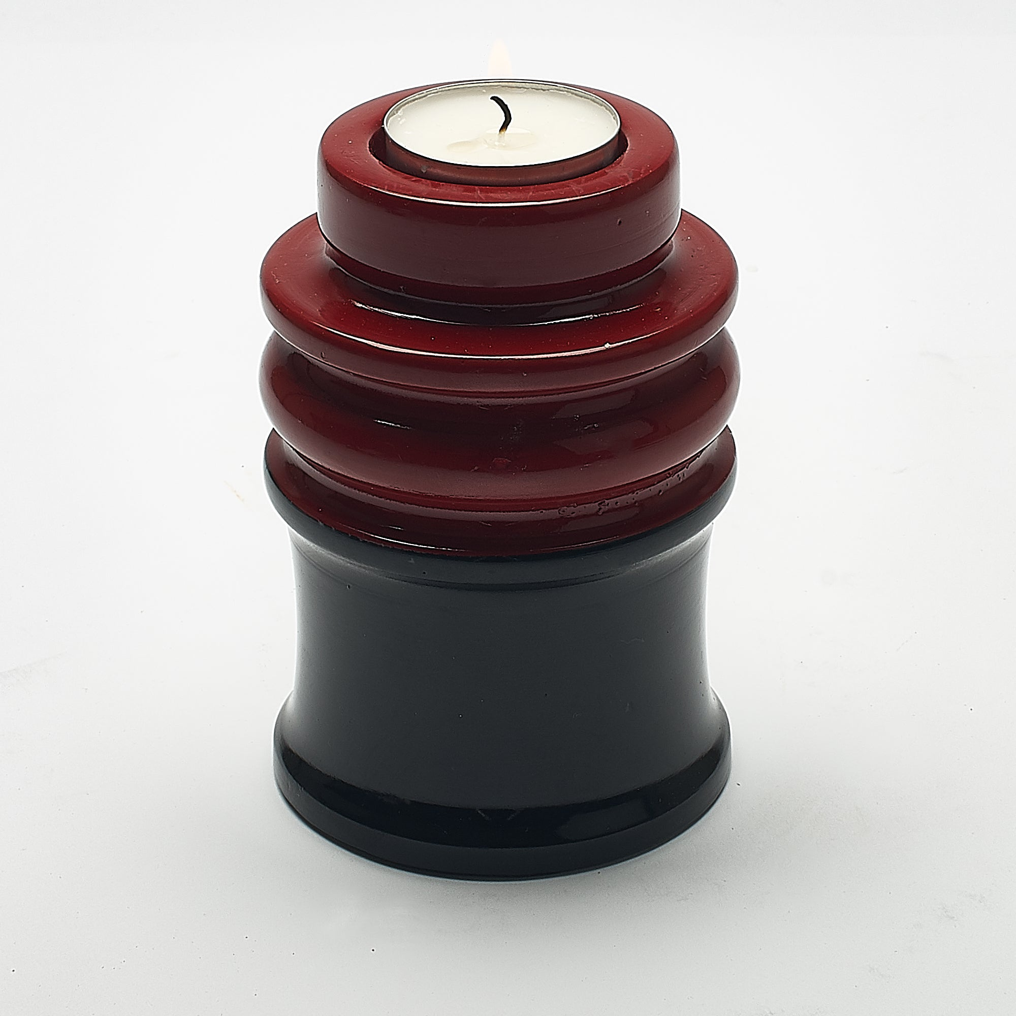 Cremation Urn - Luxury Soho Keepsake with Candle Holder