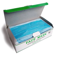 Face mask - 3ply - tie-back 50 pack