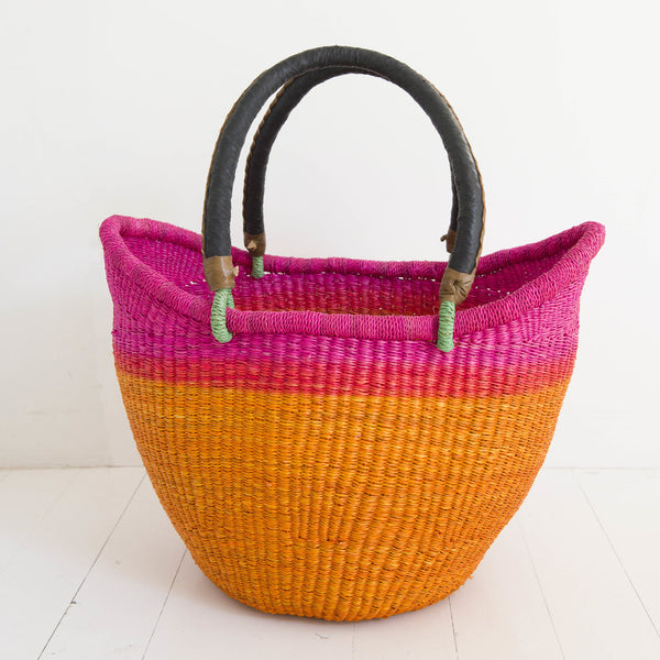 Baba Tree Dip-dyed Nyariga baskets - Agent of Trade
