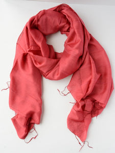 Lan Scarf - Red