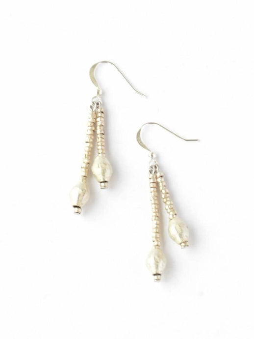 Bemnu Earrings - Silver