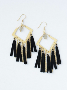 Cape Fringe Earrings