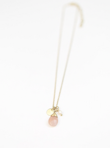 Tiny Treasures Necklace - Brass