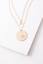 Starfish Pendant Necklace Set - Gold
