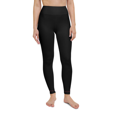 DHI Yoga Leggings logo bottom