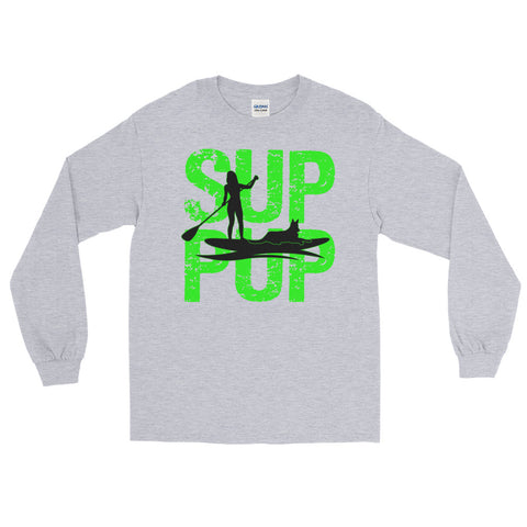 SUP PUP Green Long Sleeve T-Shirt